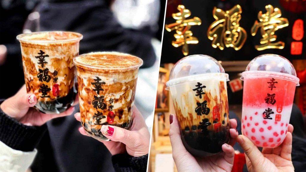 Trà sữa là thức uống nổi tiếng của Đài Loan
