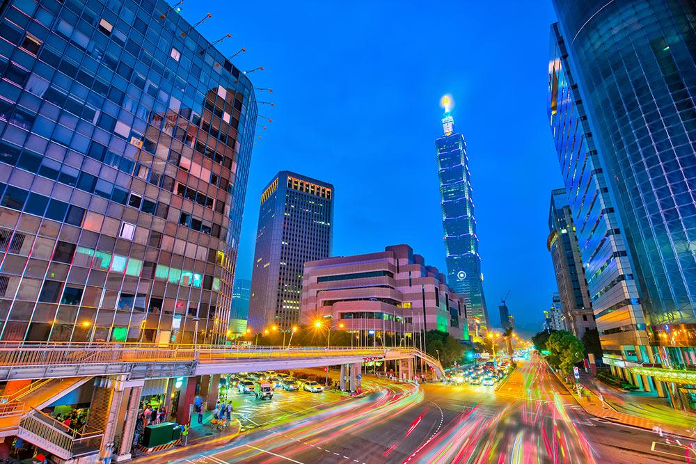 Giao thông vận tải phát triển ở Đài Loan.