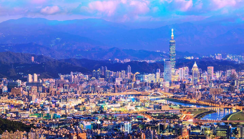 Thành phố Đài Bắc hiện đại.