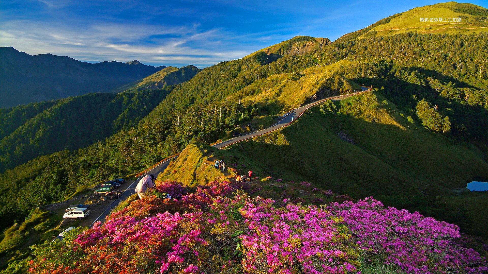 Mùa Hè ở Đài Loan có thiên nhiên tươi đẹp.