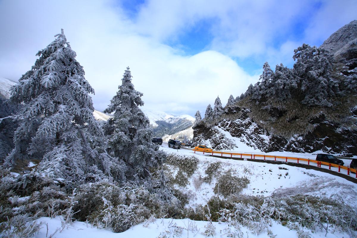 Mùa Đông ở Đài Loan thường có tuyết rơi.