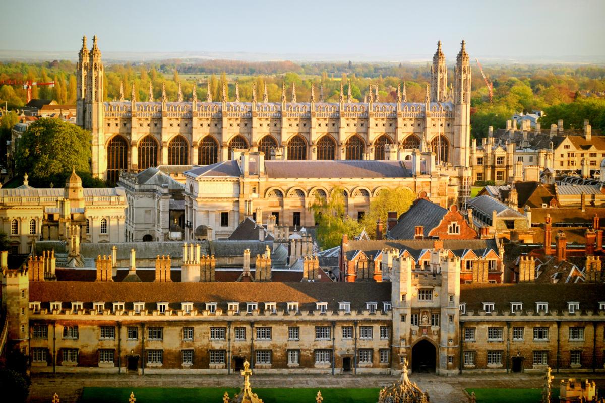 Thành phố Cambridge xinh đẹp, thơ mộng.