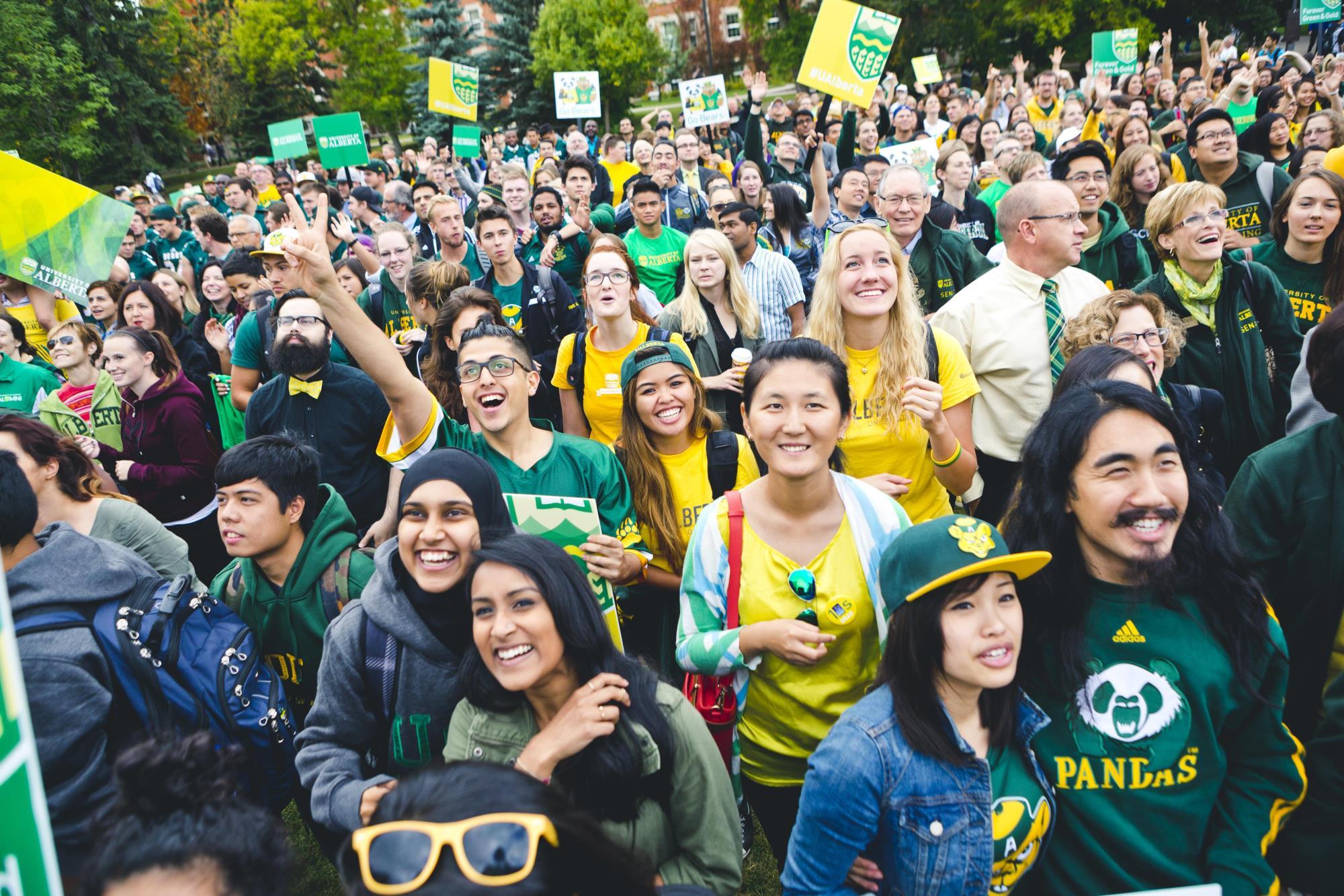 Môi trường học tập tại đại học Alberta rất thân thiện với sinh viên quốc tế.