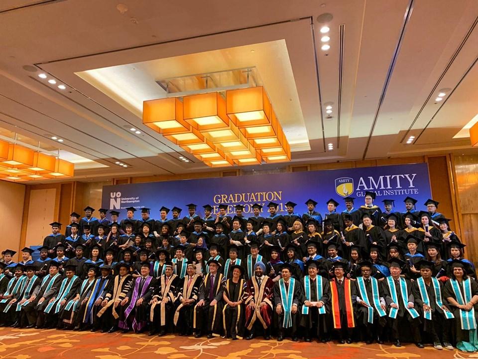 Học viện Amity Singapore là một trong những trường đào tạo kinh doanh hàng đầu Singapore.