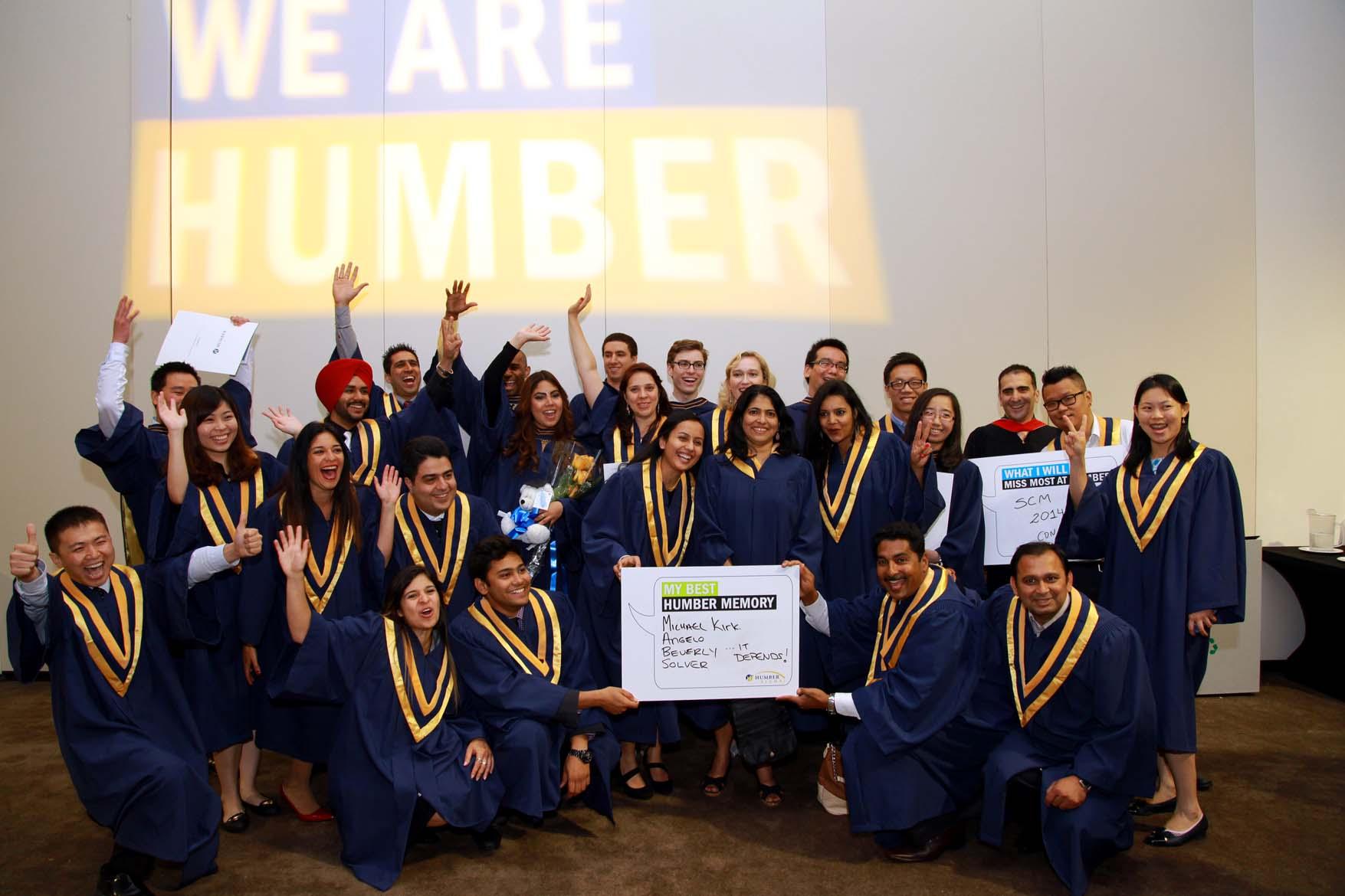 Sinh viên tốt nghiệp từ Humber College được các nhà tuyển dụng đánh giá cao.