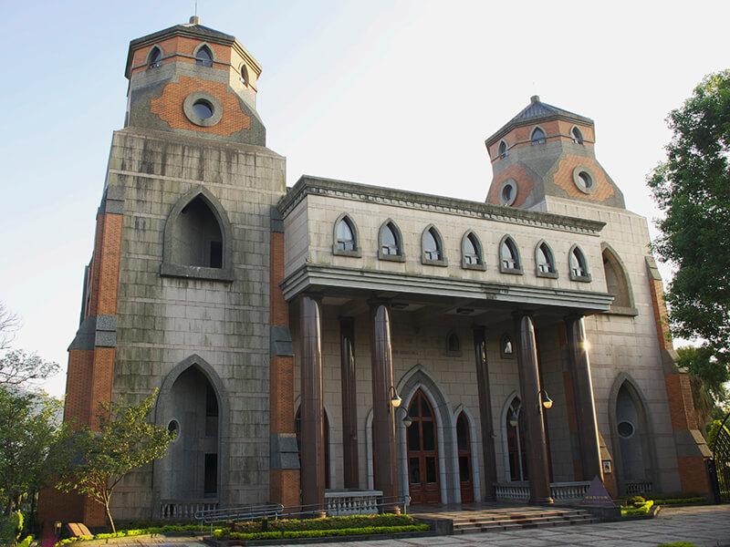 Trường Đại học Chân Lý Tân Đài Bắc hơn trăm tuổi cổ kính rêu phong