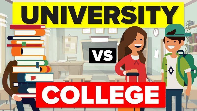 College là gì? College và University khác nhau ở điểm nào?