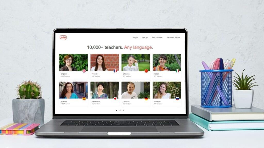 Học mọi ngôn ngữ với hơn 10000 giáo viên trên italki