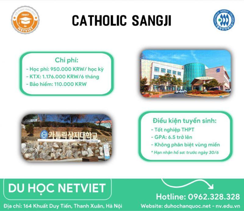 Cao đẳng Catholic Sangji