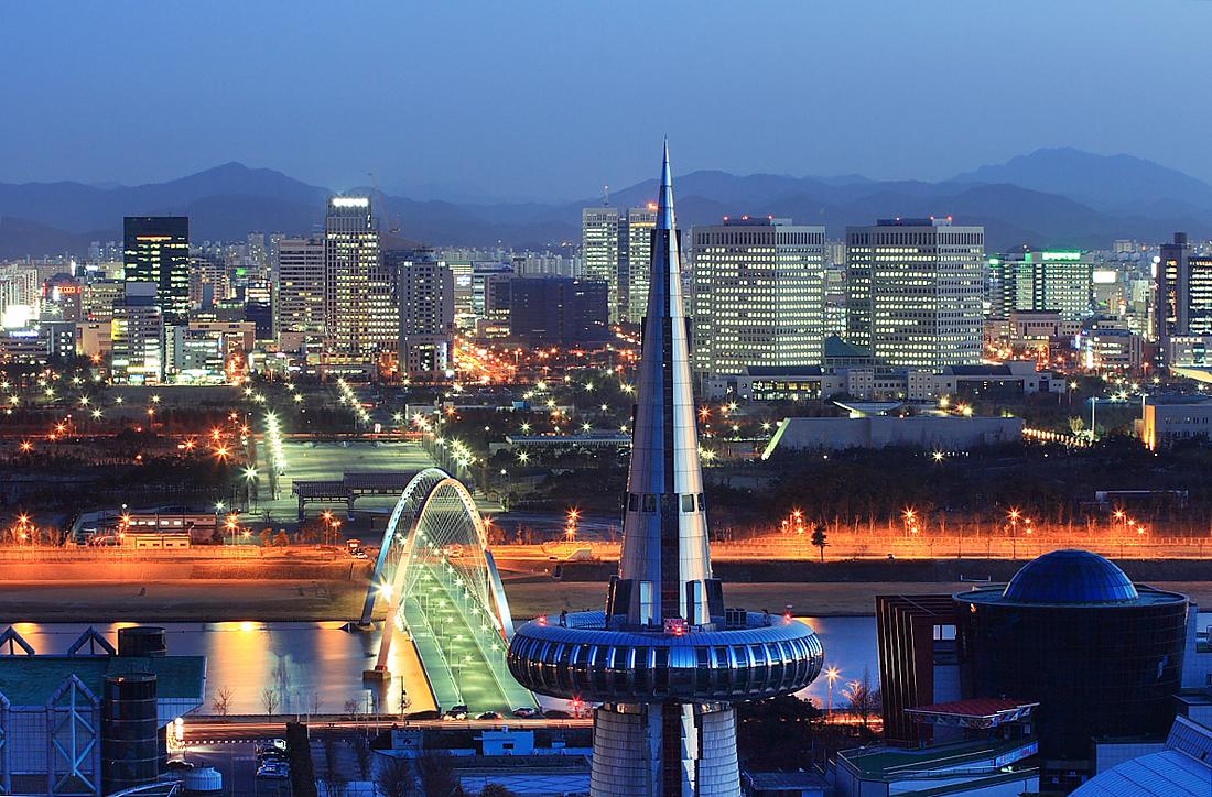 Thành phố Daejeon của Hàn Quốc