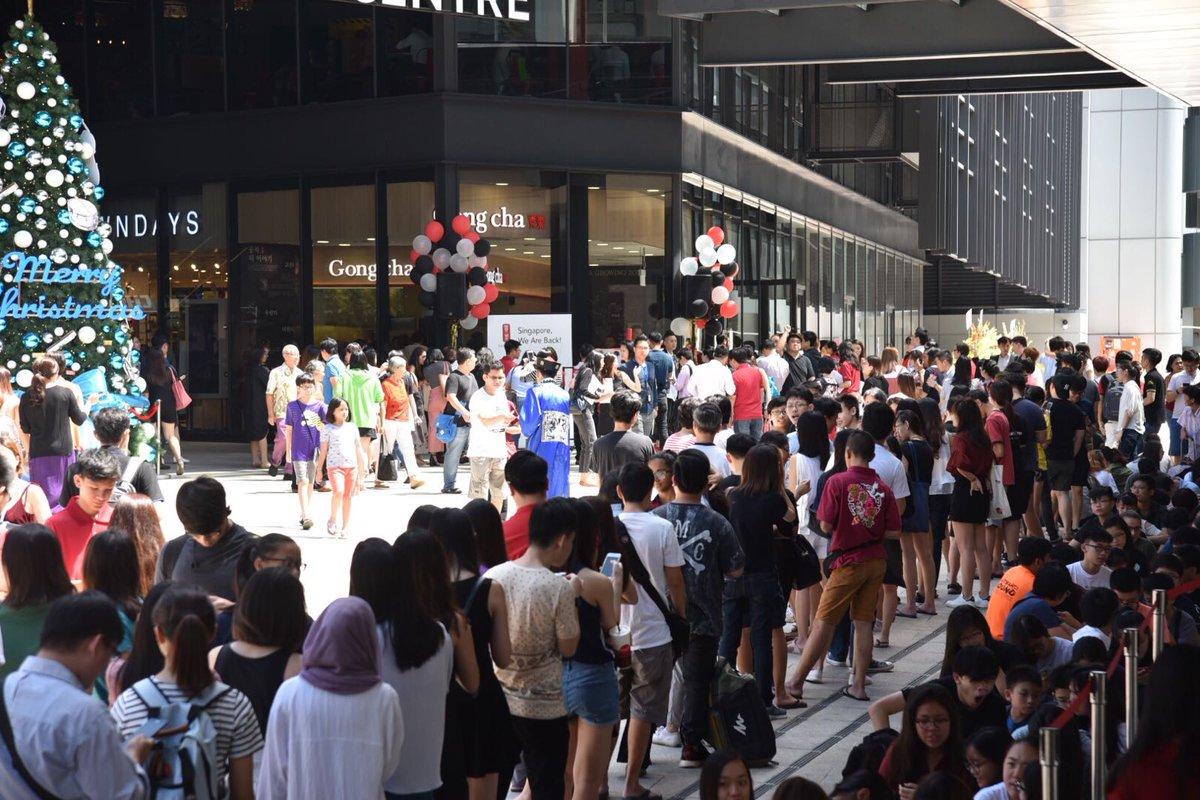Bạn sẽ nhìn thấy cảnh này thường xuyên khi định cư Singapore