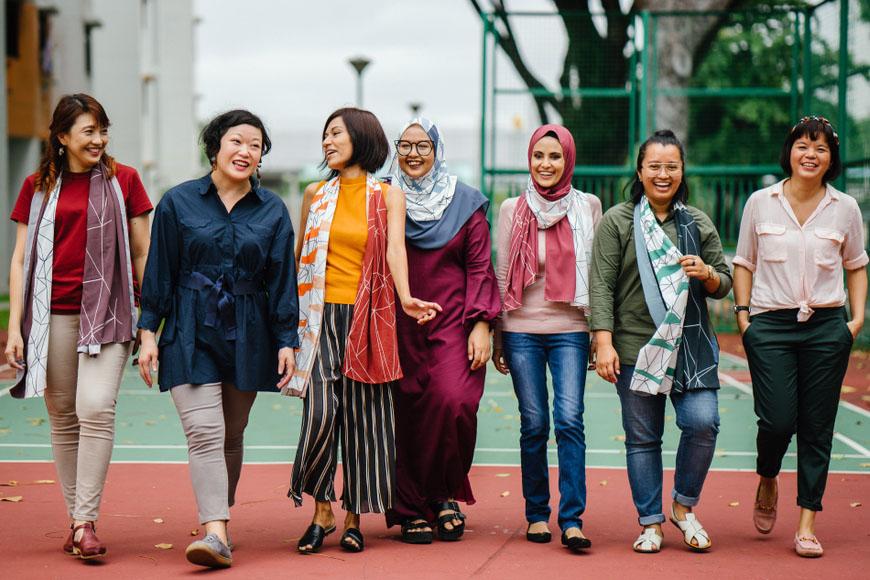 Trang phục bạn sẽ thấy hàng ngày khi định cư Singapore