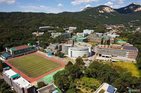 Toàn cảnh trường Sahmyook Hàn Quốc