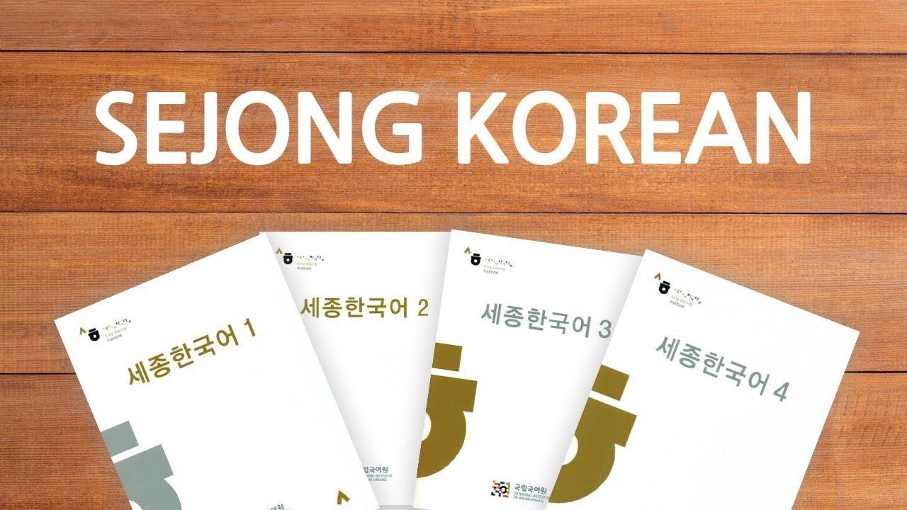 Giáo trình Sejong - Bộ tài liệu chất lượng dành...