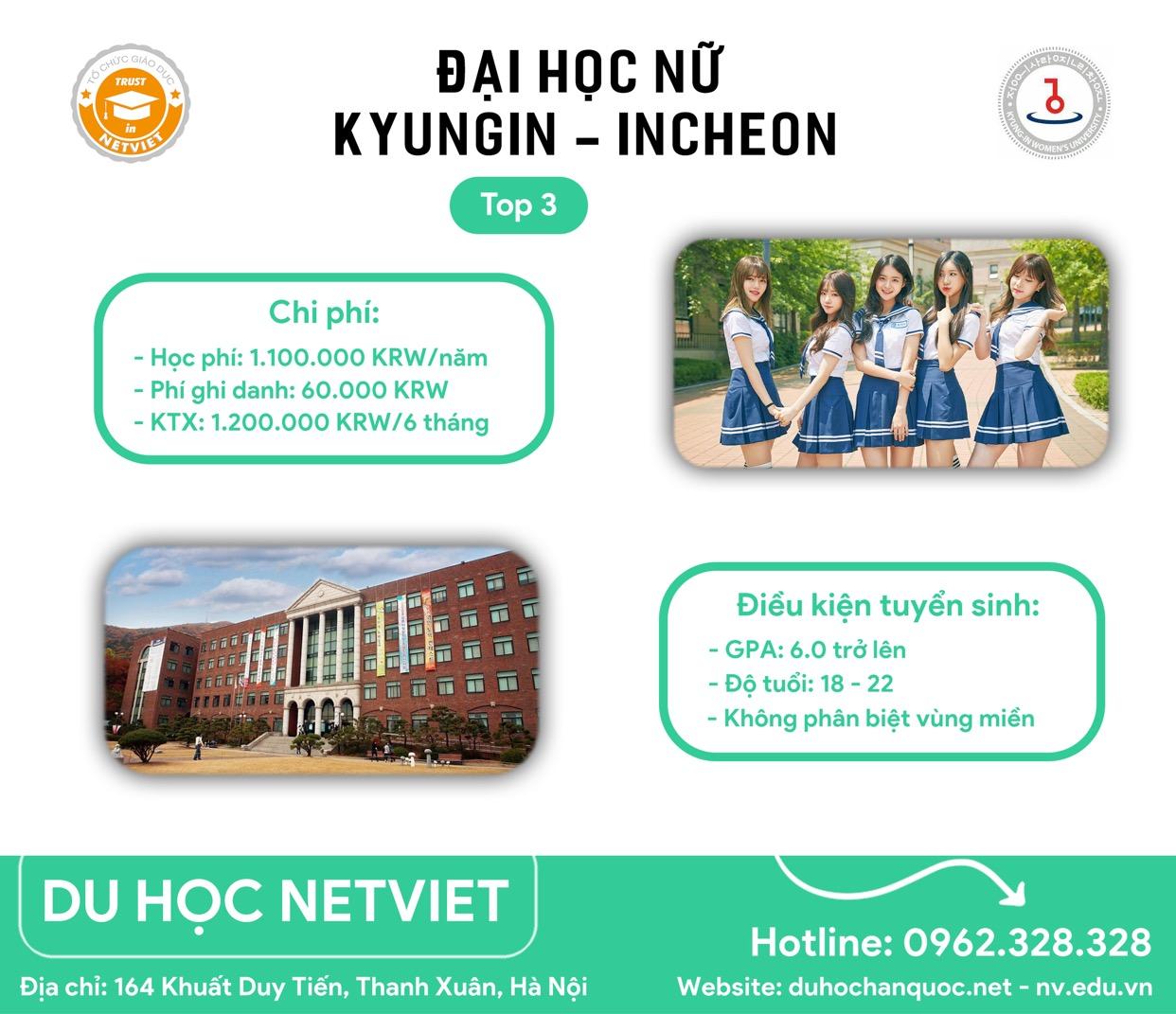 Đại học nữ sinh Kyungin - Trường Top 3 hàng đầ...